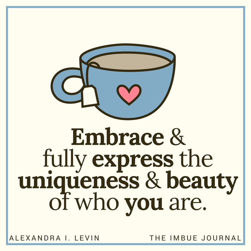 Embrace & fully express
